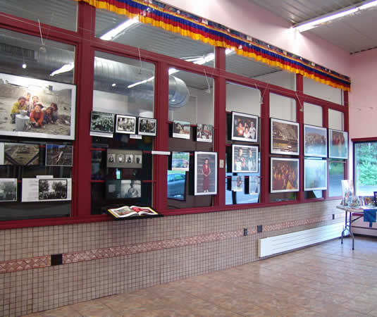 Save Tibet Exhibit Hall
